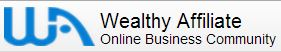 honest way to make money online - Wealthy Affiliate logo