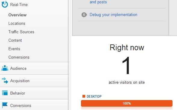 Google-analytics-shows-a-new-active-member