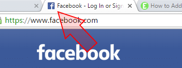Facebook logo and favicon