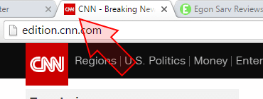 Cnn logo and favicon