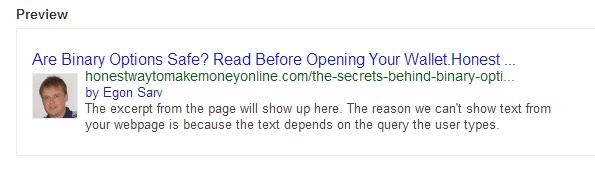 Test Google Authorship