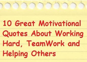 Great Teamwork Quotes. QuotesGram