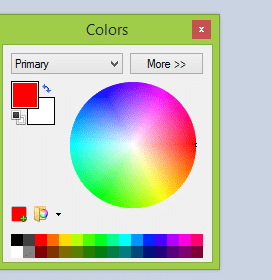 Paint.net Color Window