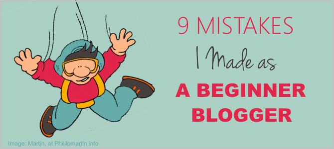 9 Mistakes I Made as a Beginner Blogger. Small Business Blog Ideas