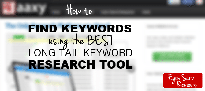The Best Long Tail Keyword Research Tool – How to Find Keywords