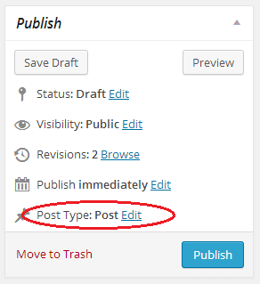 Post to page wordpress plugin