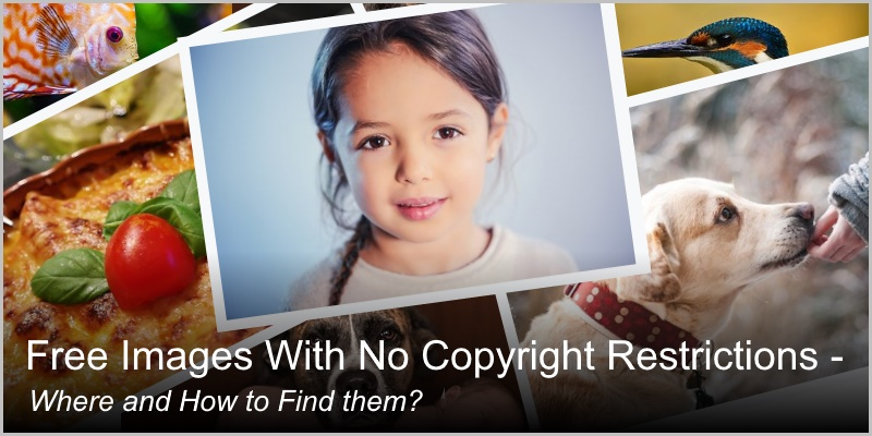 Free Images With No Copyright… Where and How to Find Them? Look Closer