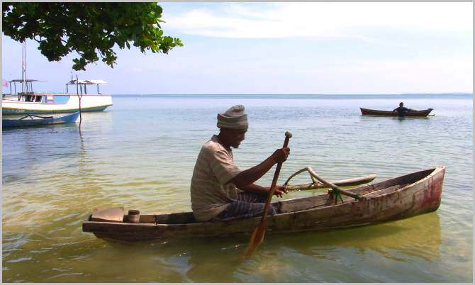 Most of the villagers in Karimunjawa are seaweed farmers
