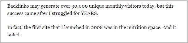 90,000 unique visitors don't happen overnight.