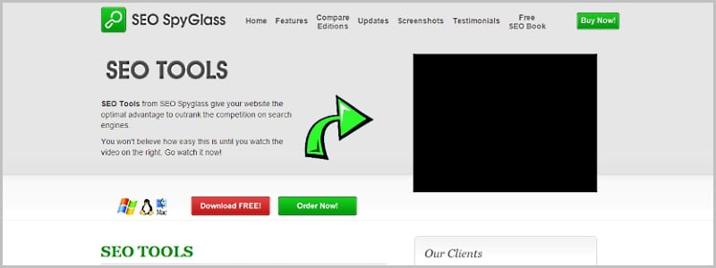 website backlink checker tool & link popularity checker