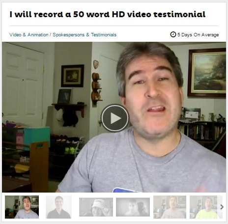 You can buy fake testimonials from Fiverr.com