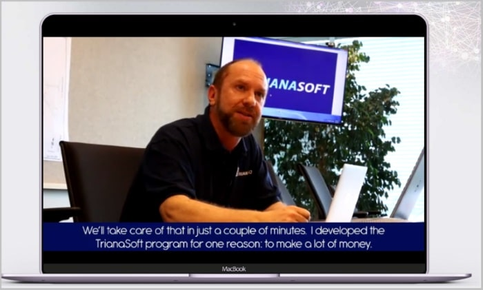 Michael Wedmore tells why he created Trianasoft App