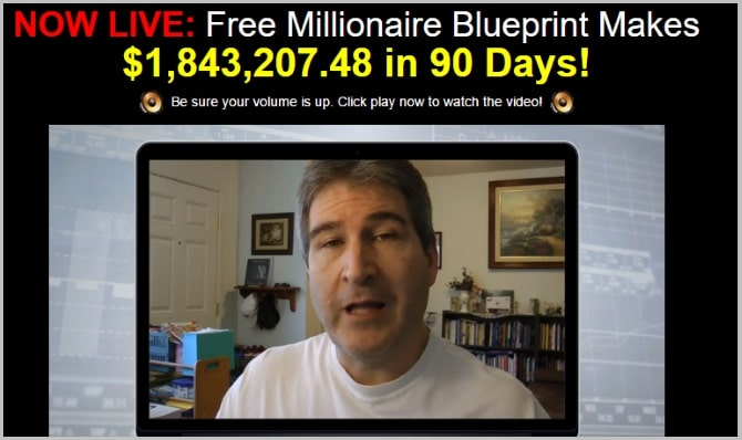 What is the millionaire blueprint scam its not what you expect fake video testimonial the free money system malvernweather Gallery