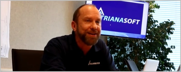 Trianasoft founder Michael Wedmore