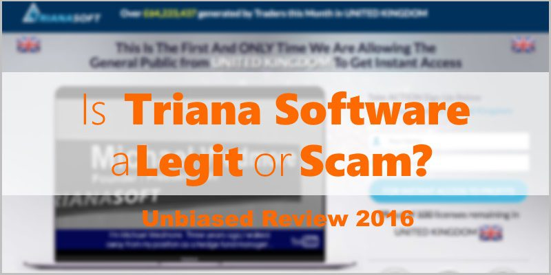 Is Triana Software a Scam or Legit? Unbiased Review 2016