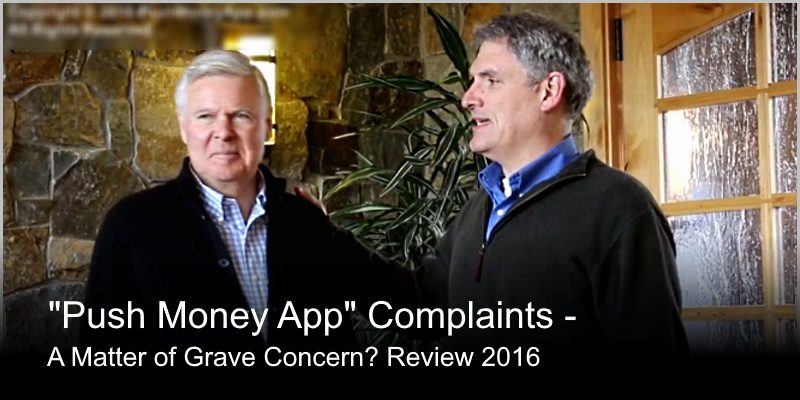 Push Money App Complaints – a Matter of Grave Concern? Review 2016