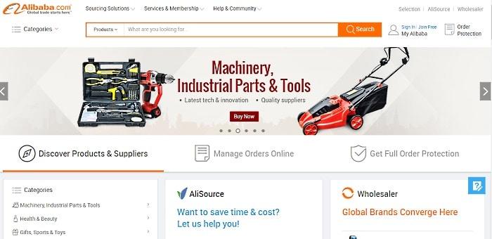 alibaba com homepage
