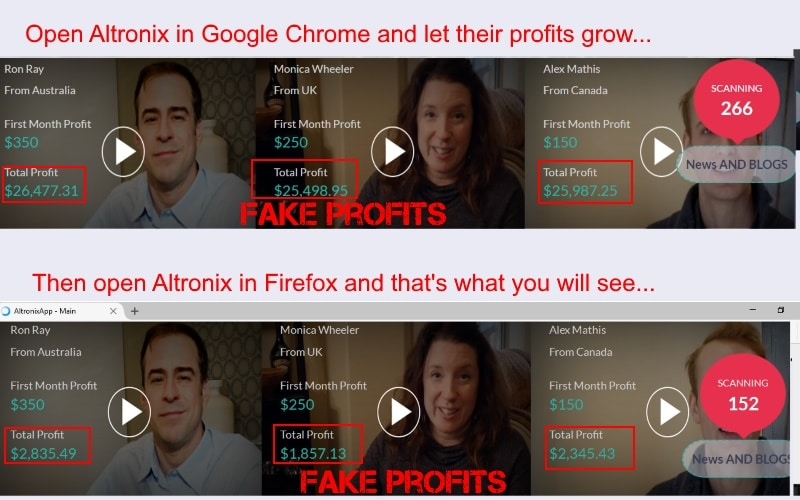 is altronix app a scam