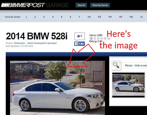 The car image is stolen from the Bimmerpost website