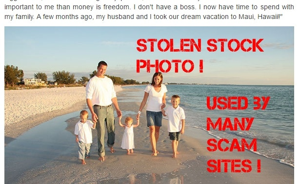 This stock photo is used by many binary options scam sites
