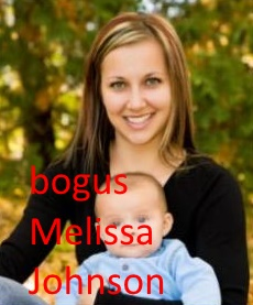Melissa Johnson is a fictional character