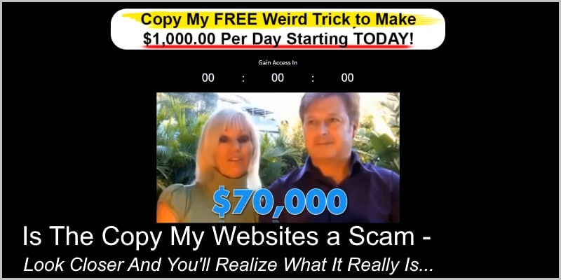 Is The Copy My Websites a Scam – Look Closer And You'll Realize What It Really Is…