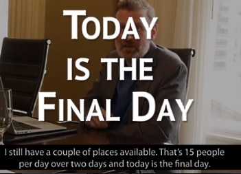 today is the final day