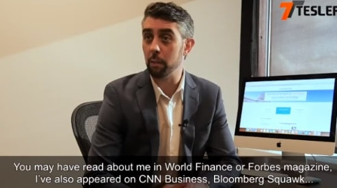 Fake Steven Abrahams claims he's been featured on World Finance, Bloomberg, etc.