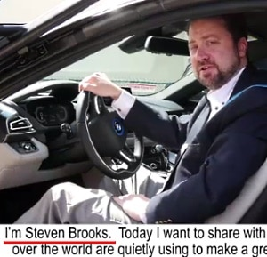 Who is Steven Brooks, the founder of Brooks Blueprint