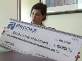 the brooks blueprint is a scam - all its testimonials are fake