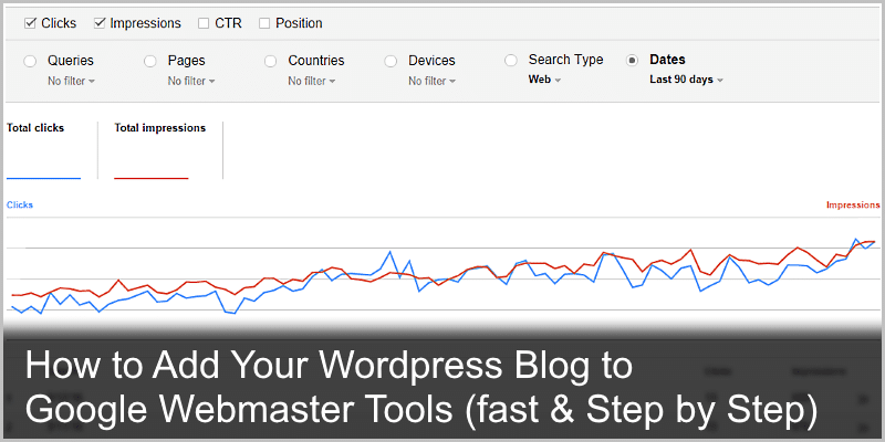 How to Add Your WordPress Blog to Google Webmaster Tools (fast)