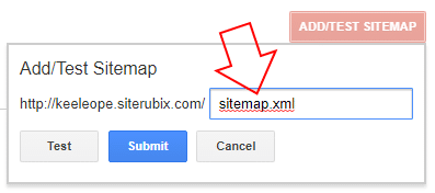 how to add a sitemap in Google Search Console
