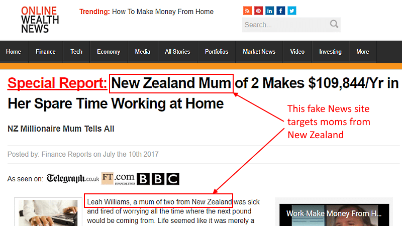legitimate work at home jobs for moms - Leah Williams from New Zealand