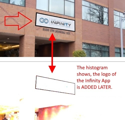 Faked Infinity Office building