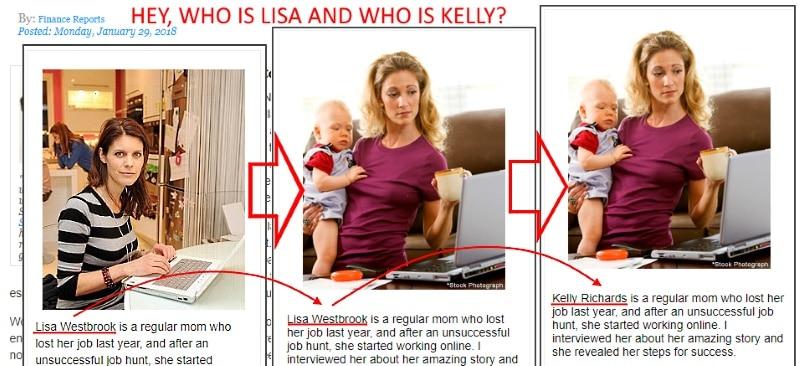 Fake Lisa Westbrook