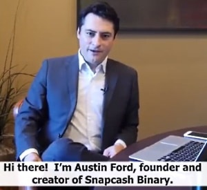 Austin Ford, the founder and creator of Snap cash binary system