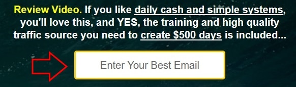 Make Money Hack does not show you their sales video unless you submit your best email address