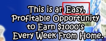 My Residual Profit is an easy profitable work from home opportunity. Allegedly