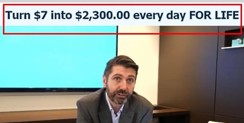 about $3000 every day, for life???