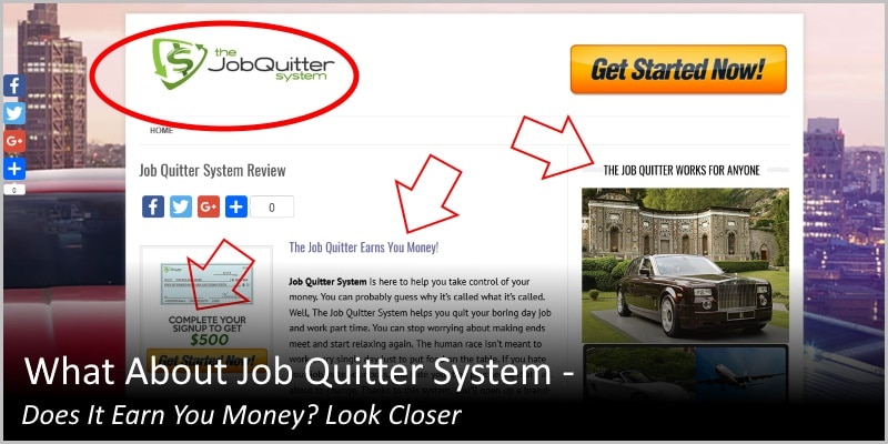 What About Job Quitter System – Does It Earn You Money? Look Closer