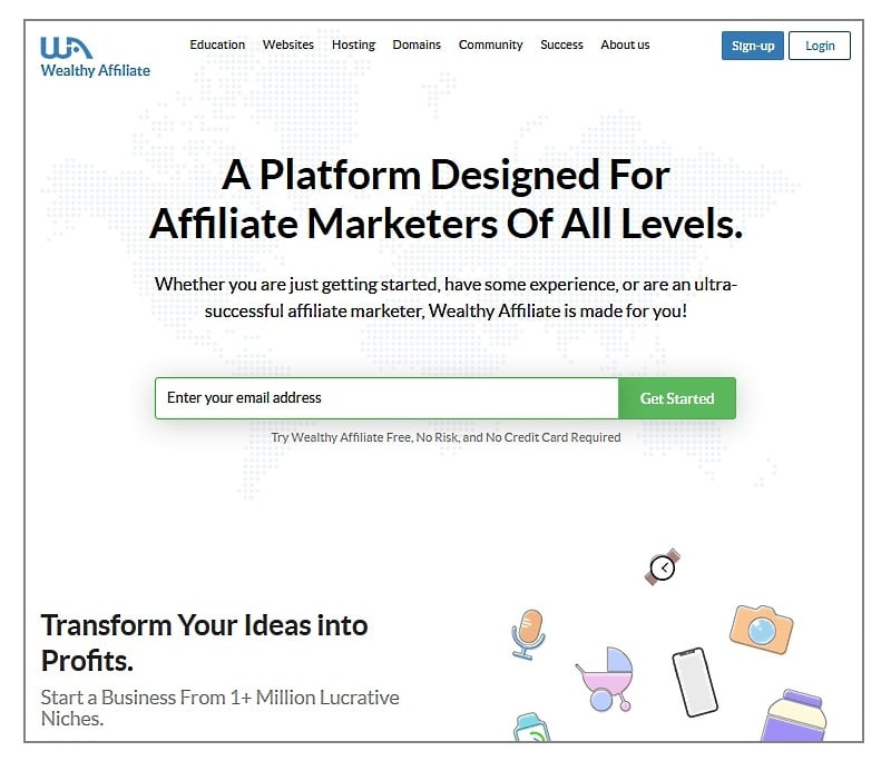 A Platform Designed For Affiliate Marketers Of All Levels.