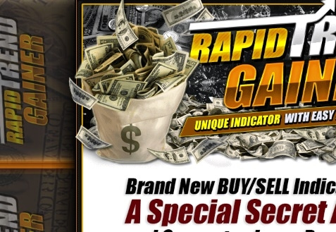 The Rapid Trend Gainer system website