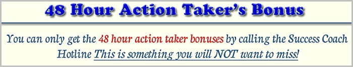 48 hour action taker's bonus