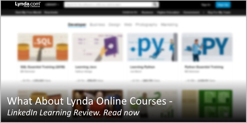 What About Lynda Online Courses – LinkedIn Learning Review